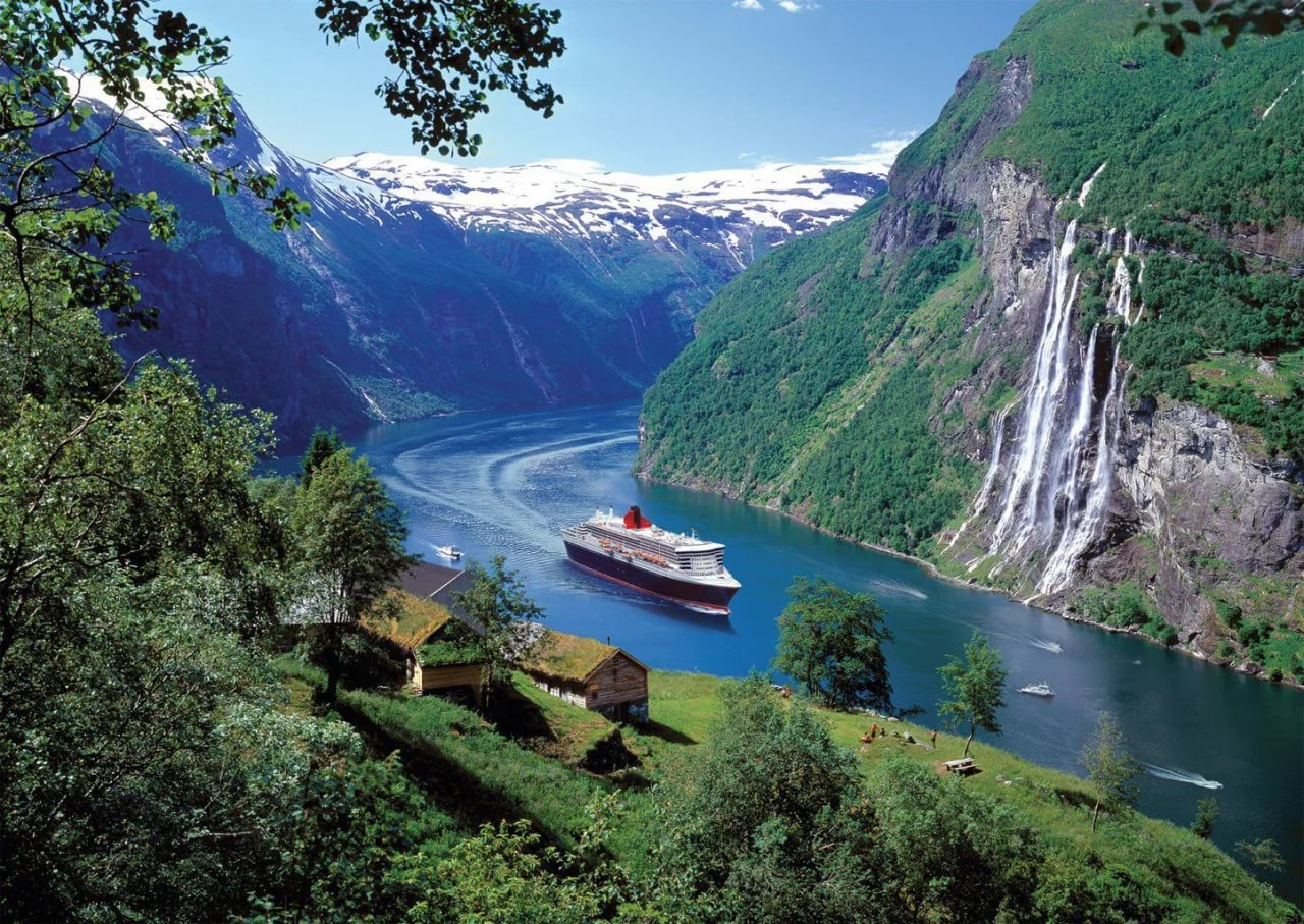 Круизы по Норвежским фьордам на 7-14 ночей лайнеры 4-5 от 699